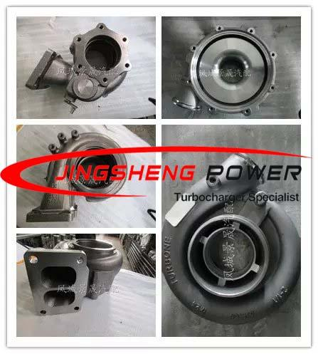 GT45 Compressor Housing For  Turbocharger Parts , Turbine And Compressor Housing